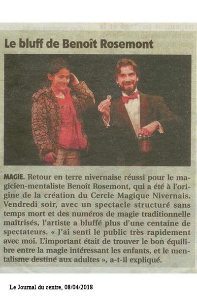 Corporate magician in Paris