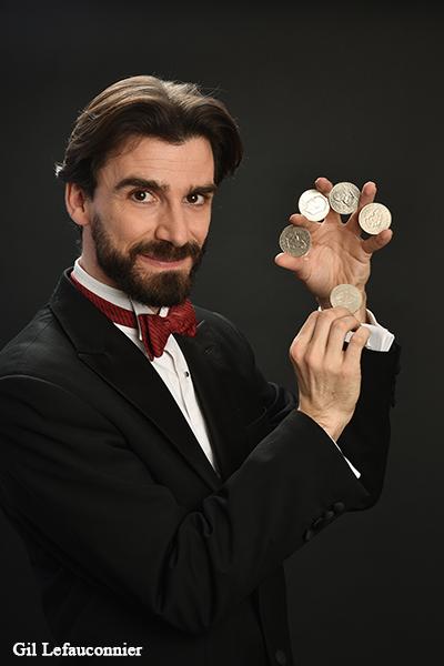 Les spectacles de magie de Benoît Rosemont