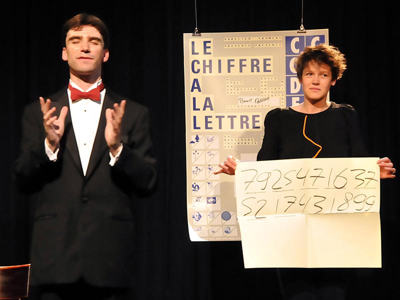 Mathemagicien à Paris et Ile de France