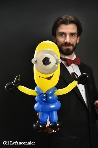 Бенуа Розмон, анимация с воздушными шарами